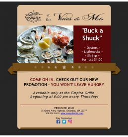 Buck a Shuck Final Flyer