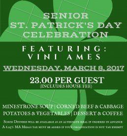 Senior St. Patrick's Day Celebration(1)