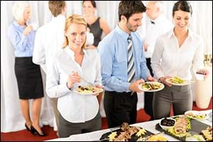 Business Luncheon in Massachusetts
