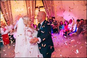 Taunton Couples Stage Wedding in Swansea, MA
